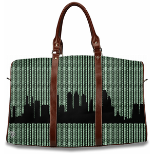 Travel Bag Duffle Bag Philadelphia Skyline Luggage Overnight Bags