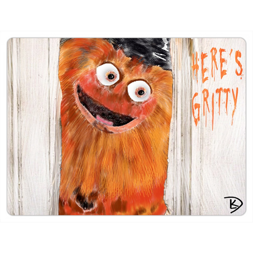 Gritty Refrigerator Magnet Flyers Philadelphia Dishwasher Magnet Hockey Gifts