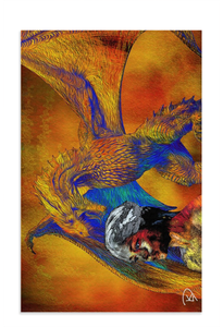 Game of Thrones Dish Towel Dragon Decor Dragon Home Decor Game of Thrones Gift