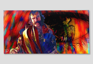 Bill The Butcher Canvas Gangs of New York Wall Art