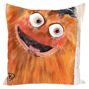 Gritty Throw Pillows Gritty Flyers Gritty Pillow