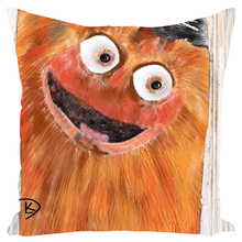 Load image into Gallery viewer, Gritty Throw Pillows Gritty Flyers Gritty Pillow