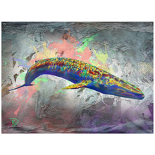 Load image into Gallery viewer, Blue Whale Tapestry Blue Whale Tapestries Whale Wall Art