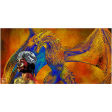 Load image into Gallery viewer, Game of Thrones Poster Dragon Wall Art Dragon Decor Canvas Posters