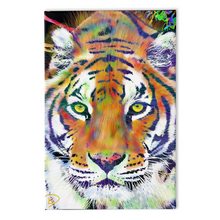 Load image into Gallery viewer, Colorful Tiger Painting Colorful Animal Art