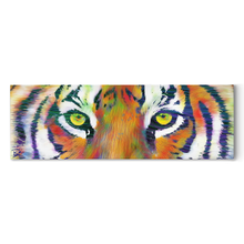 Load image into Gallery viewer, Tiger Eye Canvas Tiger Wall Art