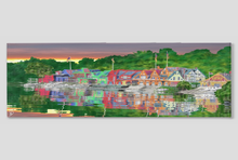Load image into Gallery viewer, Boathouse Row Canvas Panoramic Philadelphia Decor