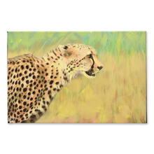 Load image into Gallery viewer, Cheetah Art Canvas Print