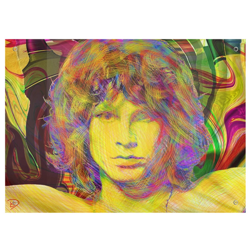 Jim Morrison Tapestry Psychedelic Tapestry