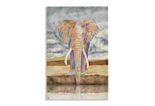Load image into Gallery viewer, Elephant Art Print Canvas Print