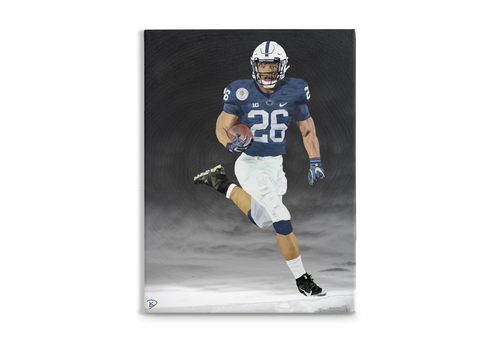 Saquon Barkley Canvas Print Penn State Decor
