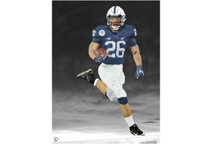 Saquon Barkley Canvas Poster