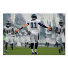 Load image into Gallery viewer, Carson Wentz Canvas Print