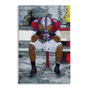 Terrelle Pryor Canvas Print Penn State Decor
