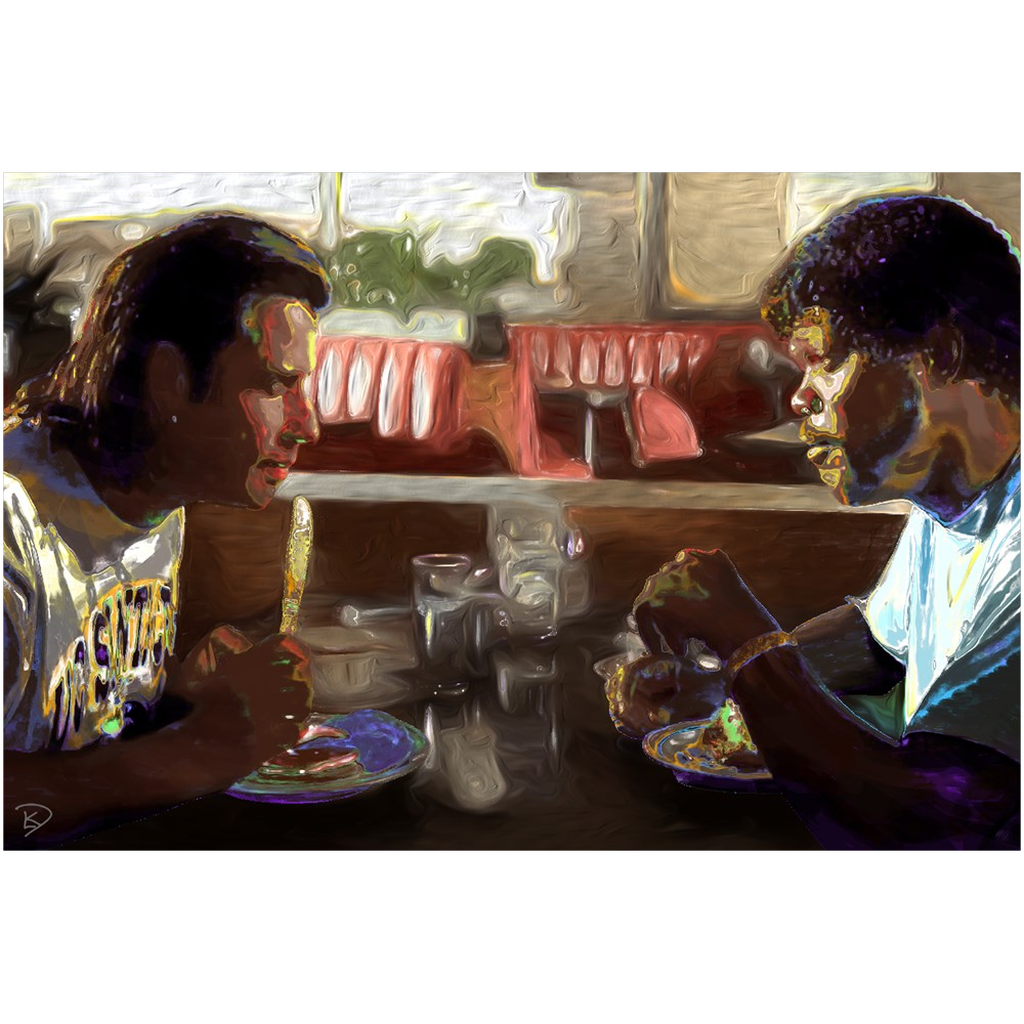 Pulp Fiction Poster Tarantino Poster