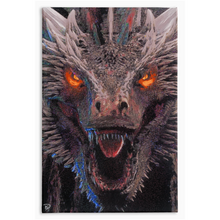 Load image into Gallery viewer, Dragon Canvas Print Game of Thrones Decor