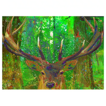 Load image into Gallery viewer, Red Stag Deer Tapestry