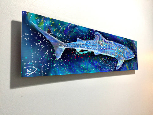 Whale Shark Aluminum Print Shark Decor