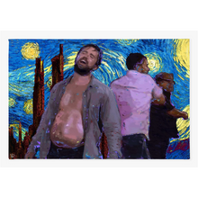 Load image into Gallery viewer, Fat Mac Starry Night Canvas Print
