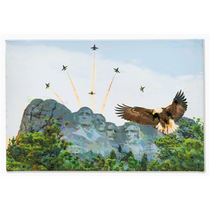 Blue Angels Canvas Print Americana Wall Art