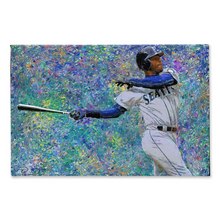 Load image into Gallery viewer, Ken Griffey Jr Canvas Print Man Cave Decor