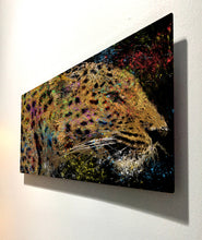 Load image into Gallery viewer, Leopard Metal Print Leopard Print Wall Art