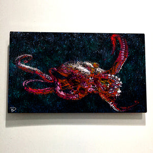 "Octopus Aluminum Print Octopus Wall Art ""Adaptation"""