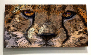 Cheetah Wall Art Metal Print