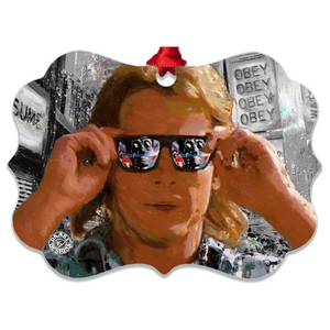 They Live Movie Christmas Ornament