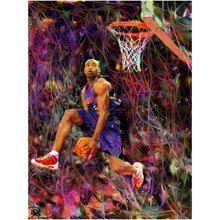 Load image into Gallery viewer, Vince Carter Poster Man Cave Art