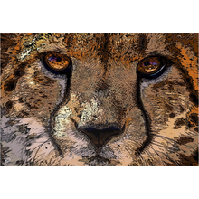 Load image into Gallery viewer, Cheetah Wall Art Metal Print