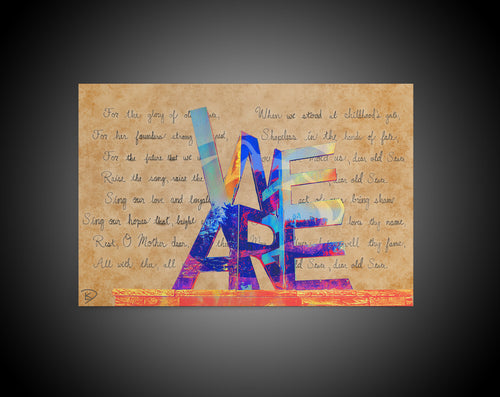 We Are Statue Canvas Print