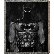 Load image into Gallery viewer, Batman Animated Woven Blanket Batman Gift