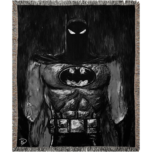 Batman Animated Woven Blanket Batman Gift