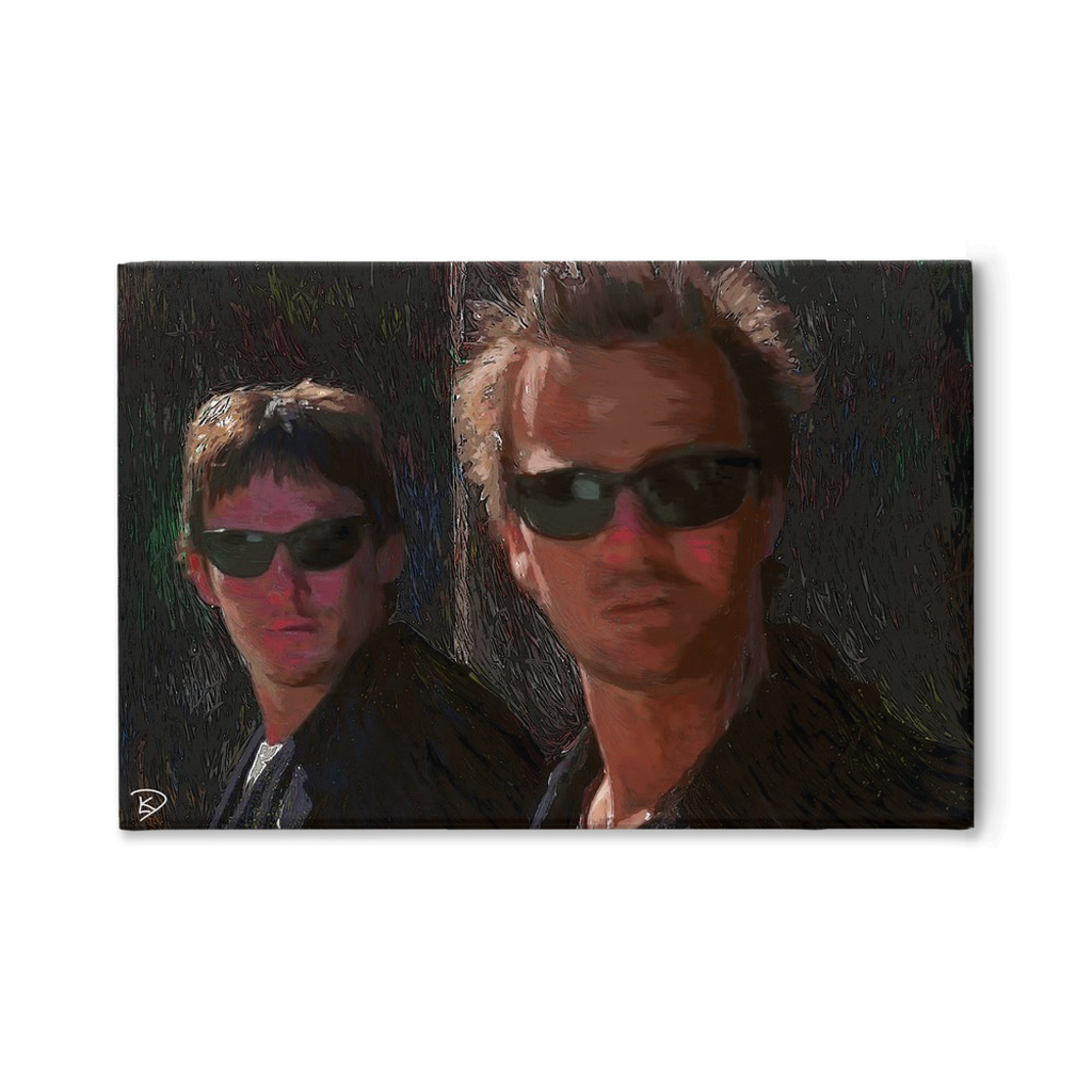 Boondock Saints Canvas Print