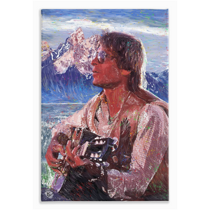 "John Denver Canvas Print ""Rocky Mountain High"""
