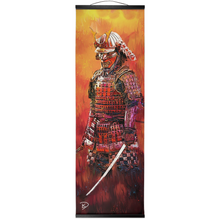 "Load image into Gallery viewer, Samurai Hanging Canvas Print ""Art of Destiny"""