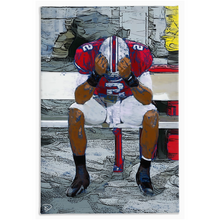 Load image into Gallery viewer, Terrelle Pryor Canvas Print Penn State Decor