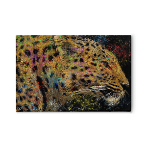 Leopard Canvas Print Leopard Print Wall Art