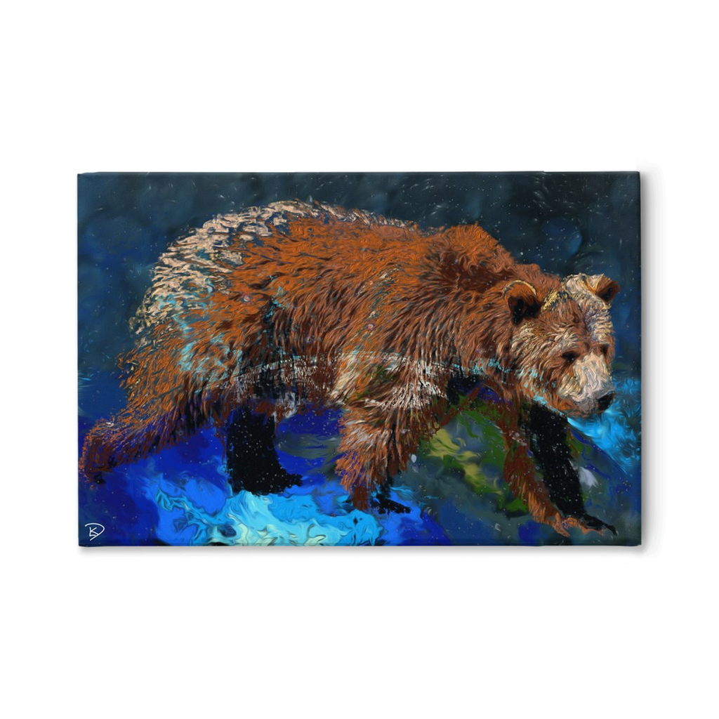 Constellation Canvas Print Ursa Major Wall Art
