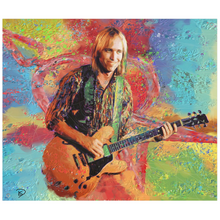 Load image into Gallery viewer, Tom Petty Tapestry Psychedelic Tapestry
