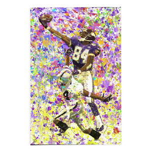 Randy Moss Canvas Print