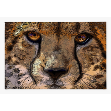 Load image into Gallery viewer, Cheetah Wall Art Canvas Print