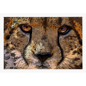 Cheetah Wall Art Canvas Print