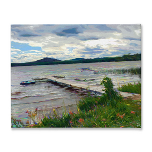 Lake House Canvas Print Lake House Decor