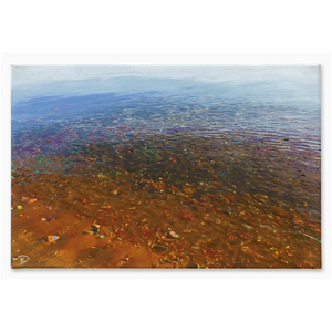 Lake Superior Canvas Print Lake House Decor