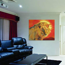 Load image into Gallery viewer, Lion Wall Art Lion King Canvas Wall Art