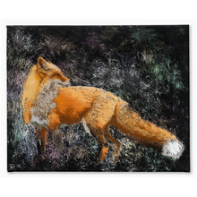 Load image into Gallery viewer, Red Fox Canvas Print Fox Wall Art