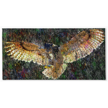 Load image into Gallery viewer, Eurasian Eagle Owl Canvas Print