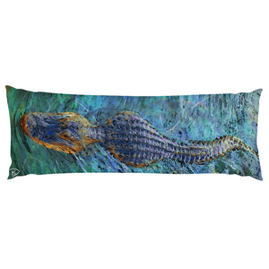 Crocodile Body Pillow